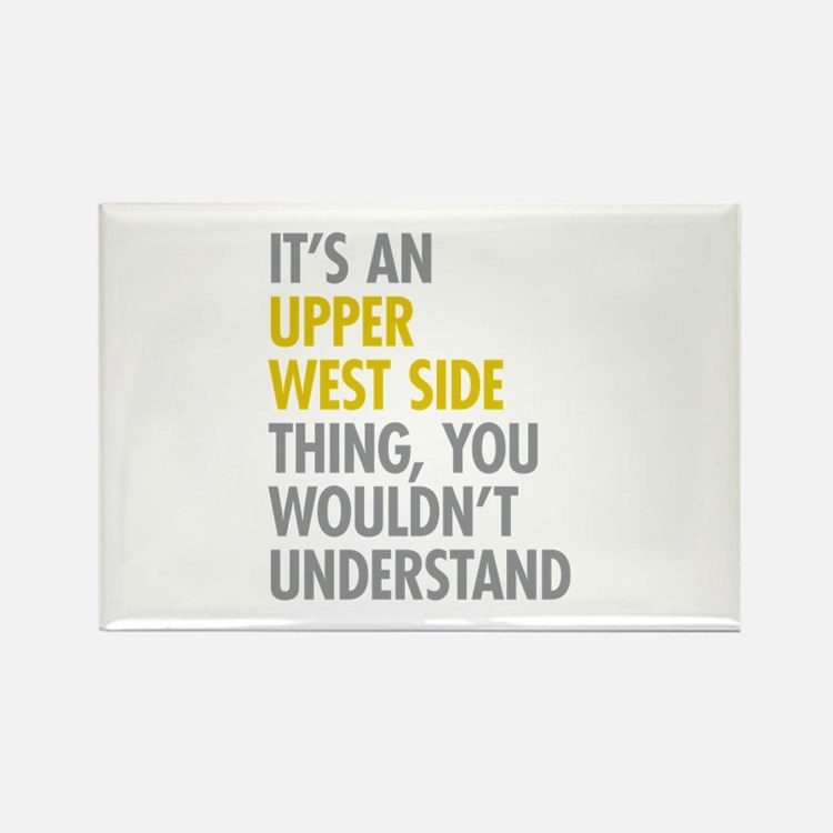 Upper West Side Thing Rectangle Magnet