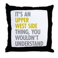 Upper West Side Thing Throw Pillow