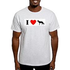 I Heart German Shepherd T-Shirt