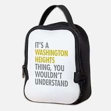 Washington Heights Thing Neoprene Lunch Bag