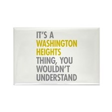 Washington Heights Thing Rectangle Magnet