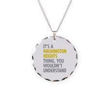 Washington Heights Thing Necklace Circle Charm