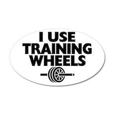 I Use Training Wheels Wall Decal