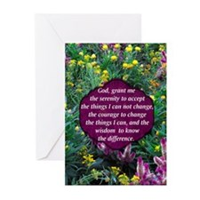 SERENITY PRAYER Greeting Cards (Pk of 10)