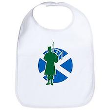 Scottish Piper Bib