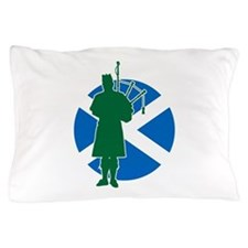 Scottish Piper Pillow Case