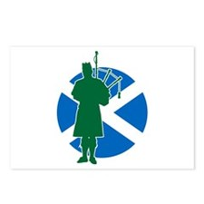 Scottish Piper Postcards (Package of 8)