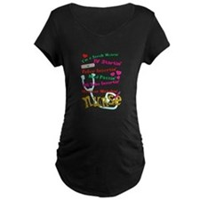 nurse humor 4 Maternity T-Shirt