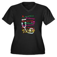 nurse humor 4 Plus Size T-Shirt