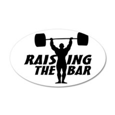 Raising The Bar Wall Decal