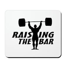 Raising The Bar Mousepad