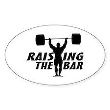 Raising The Bar Decal