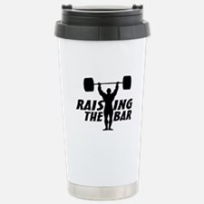 Raising The Bar Stainless Steel Travel Mug
