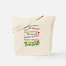 Nurse humor 2 Tote Bag