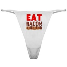 Eat Bacon Classic Thong