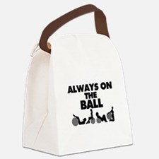 Always On The Ball Canvas Lunch Bag