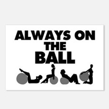 Always On The Ball Postcards (Package of 8)