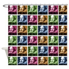 Renaissance Shakespeare Shower Curtain