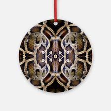 Python Ornament (Round)