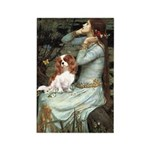 Ophelia & Cavalier Rectangle Magnet (10 pack)