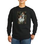 Ophelia & Cavalier Long Sleeve Dark T-Shirt