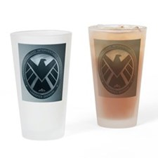 MAOS Brush Metal Shield Drinking Glass