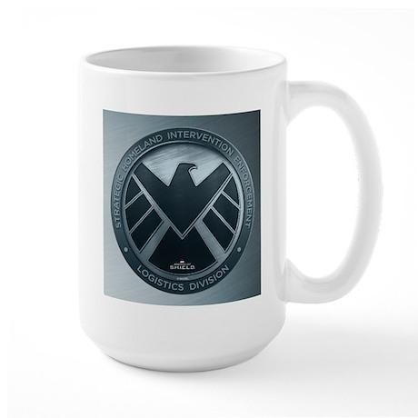 MAOS Brush Metal Shield Large Mug