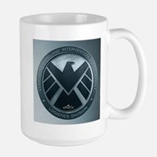 MAOS Brush Metal Shield Mug