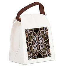 Python Canvas Lunch Bag