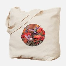 3 Hummingbirds Tote Bag