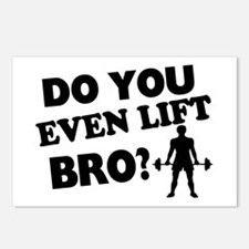 Do You Even Lift Bro? Postcards (Package of 8)