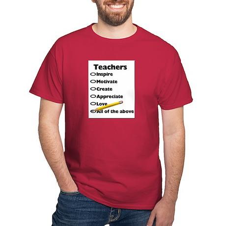 Gifts for Teachers Dark T-Shirt