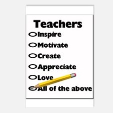 Gifts for Teachers Postcards (Package of 8)
