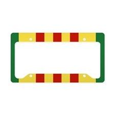 Vietnam Service Ribbon License Plate Holder
