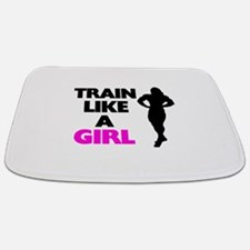 Train Like A Girl Bathmat