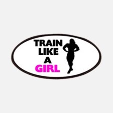 Train Like A Girl Patches