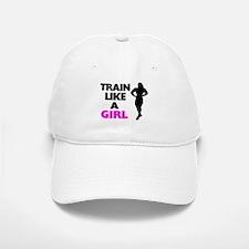 Train Like A Girl Baseball Baseball Cap