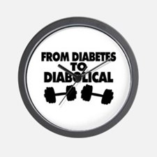 From Diabetes To Diabolical Wall Clock