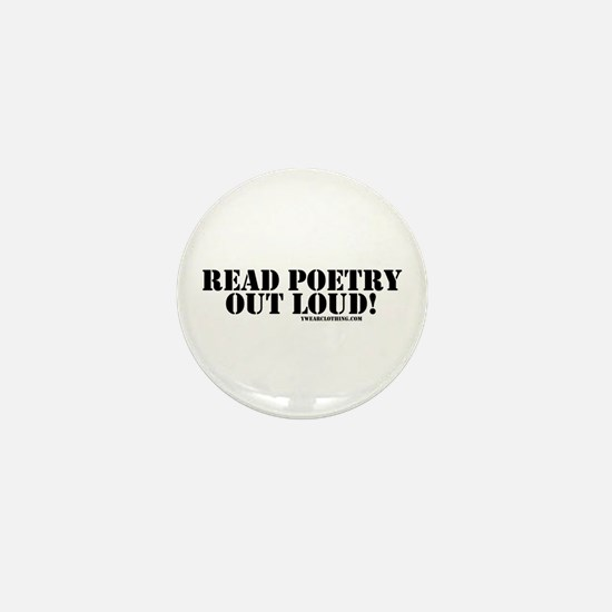 Poetry Out Loud Mini Button