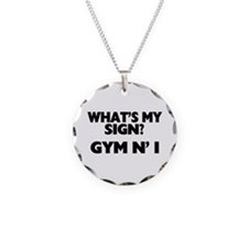 What's My Sign Gym N' I Necklace