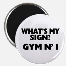 What's My Sign Gym N' I Magnet