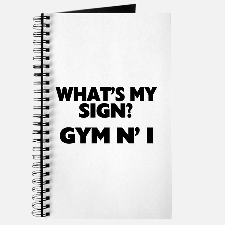 What's My Sign Gym N' I Journal