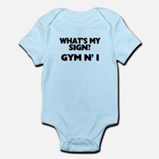 What's My Sign Gym N' I Infant Bodysuit