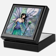 Cry of the Wind Fairy Fantasy Art Keepsake Box