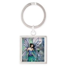 Cry of the Wind Fairy Fantasy Art Keychains