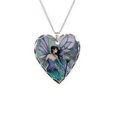 Cry of the Wind Fairy Fantasy Art Necklace