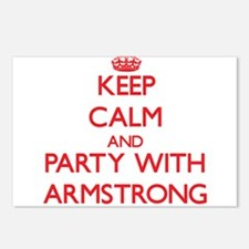 Keep calm and Party with Armstrong Postcards (Pack
