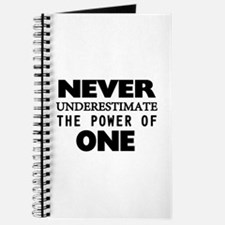 Never Underestimate The Power Of One Journal
