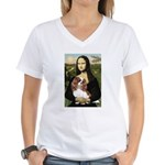 Mona's Cavalier Women's V-Neck T-Shirt