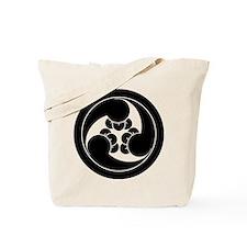 Three clockwise clove swirls in circle Tote Bag